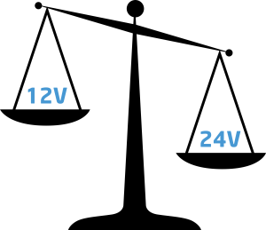 12V or 24V - which is best?