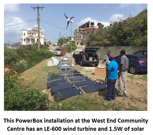 Hybrid power for disaster relief