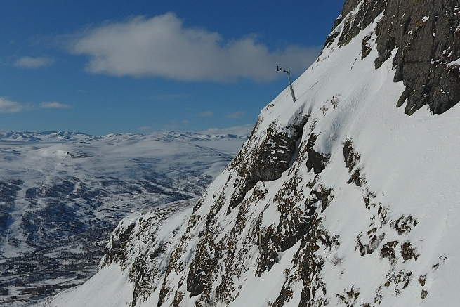 Avalanche protection in Norway