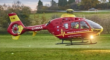 Helping Midlands Air Ambulance remain operational after dark
