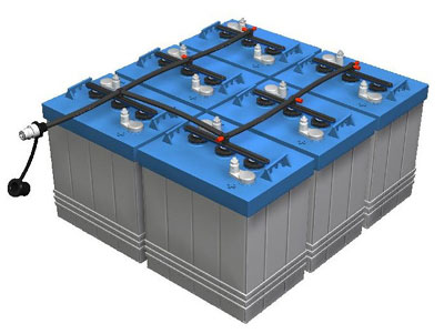 Solar Panel Battery Bank >> Battery Bank Size Calulations Leading Edge Turbines Power Solutions