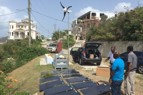 Off-grid power for hurricane prone Caribbean