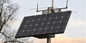 SolarBox provides essential power for remote 12V DC equipment