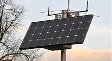 SolarBox provides essential power for remote 12V equipment