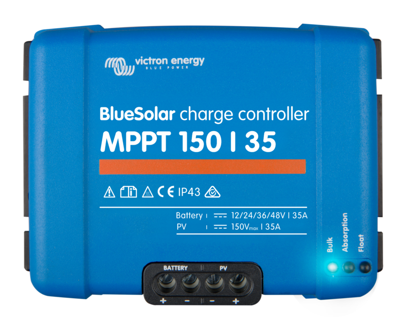 Victron BlueSolar 35A MPPT Charge Controller 150/35 (12/24/48V)