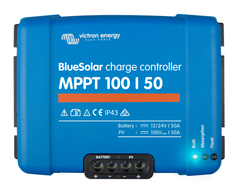 Victron BlueSolar 50A MPPT Charge Controller 100/50 (12/24V-50A)