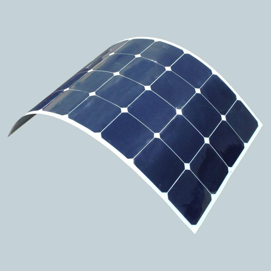 Flexible Monocrystalline Solar Panel (100W) FLEX-100 - Leading Edge ...