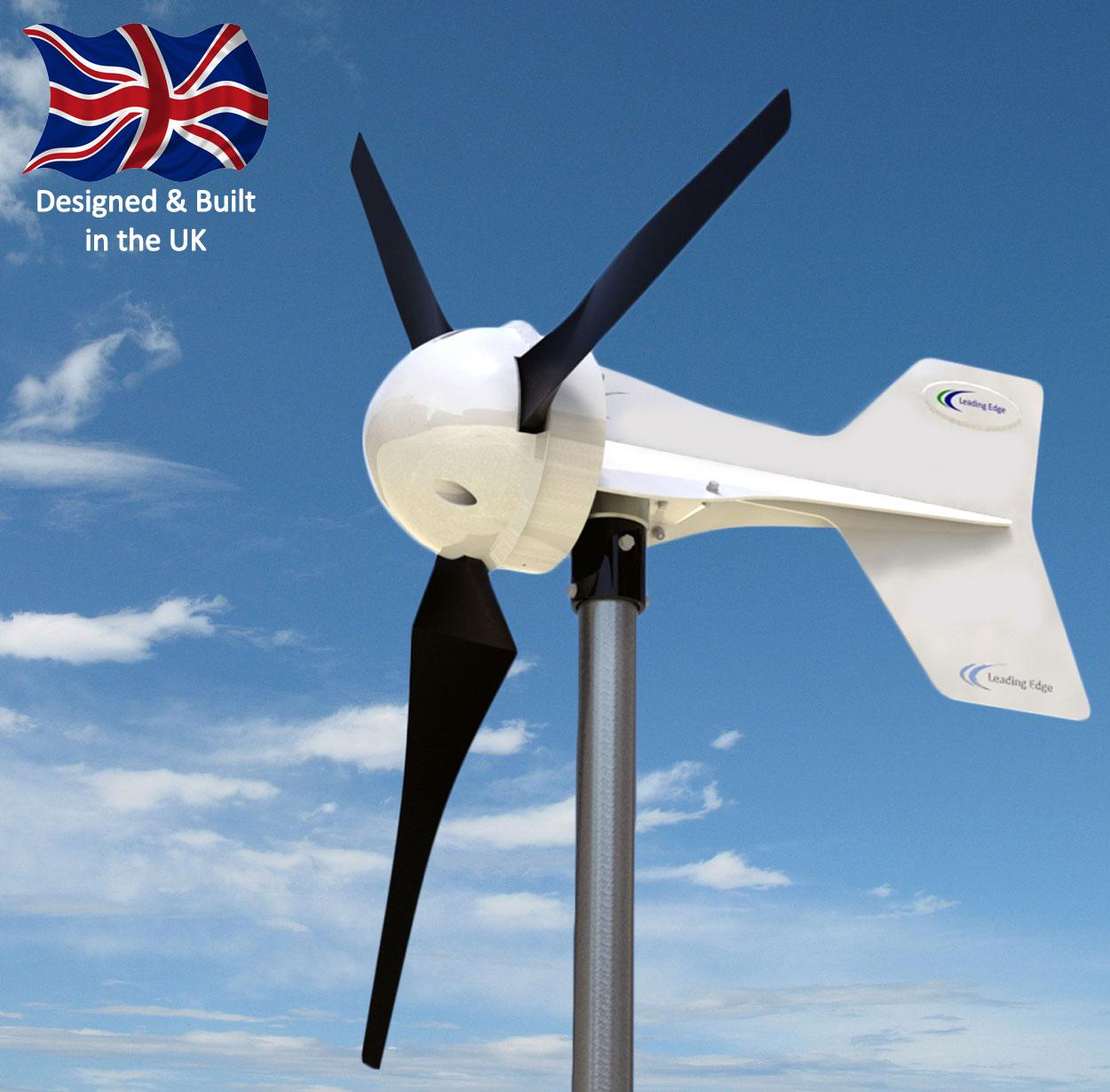 Le 300 Most Reliable 300w Small Wind Turbine Power Diagrams Standard 12 24 48v