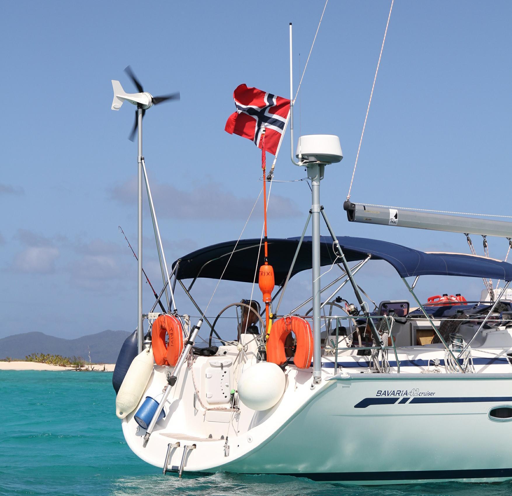 Boats And Yachts Wind Turbines Leading Edge Turbines
