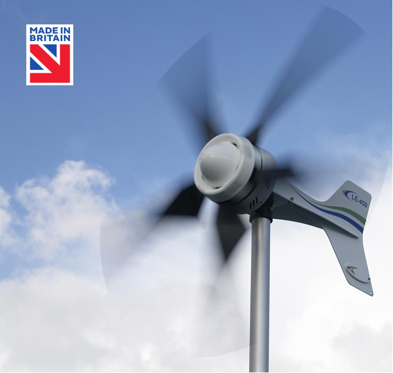 Le 450 Battery Charging Small Wind Turbine