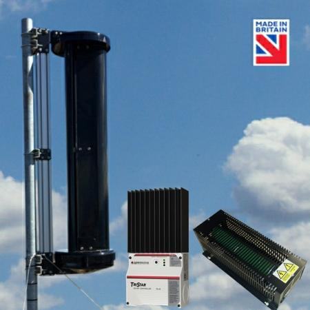 LE-v150 Extreme Vertical Axis Wind Turbine Advanced Kit
