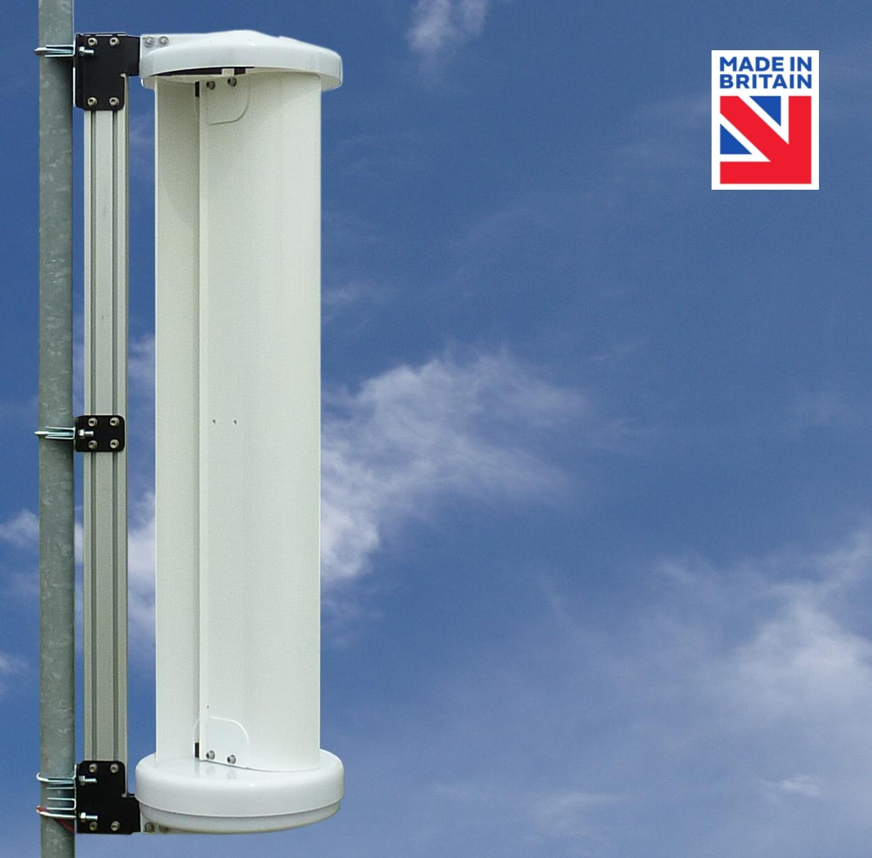 LE-v150 Vertical Axis Wind Turbine (12/24/48V)