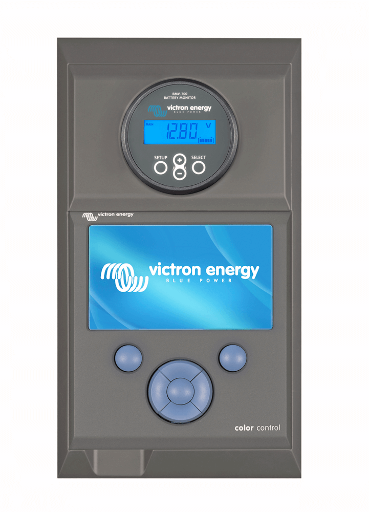Victron Enclosure for Color Control and BMV or MPPT Control