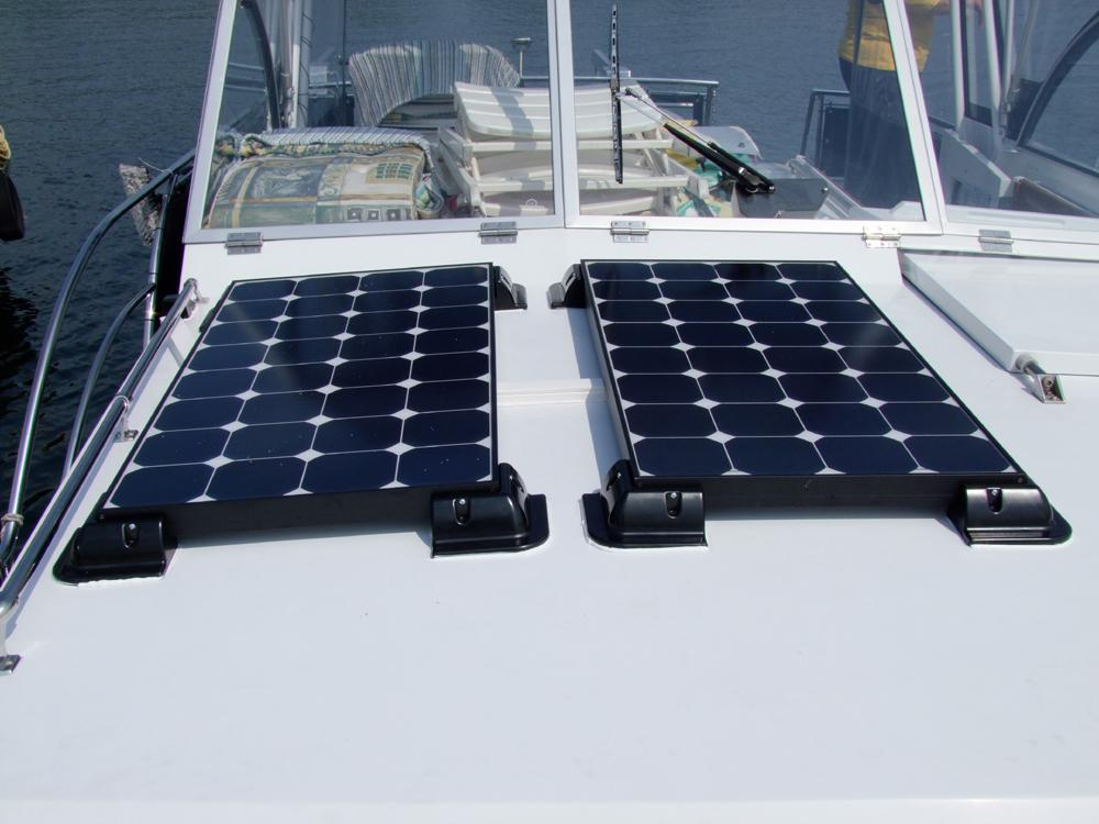 Boat And Marine Solar Panels Leading Edge Turbines