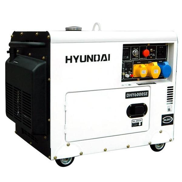 Hyundai DHY6000SE-LR Diesel Generator (4 5kW / 5 2kW