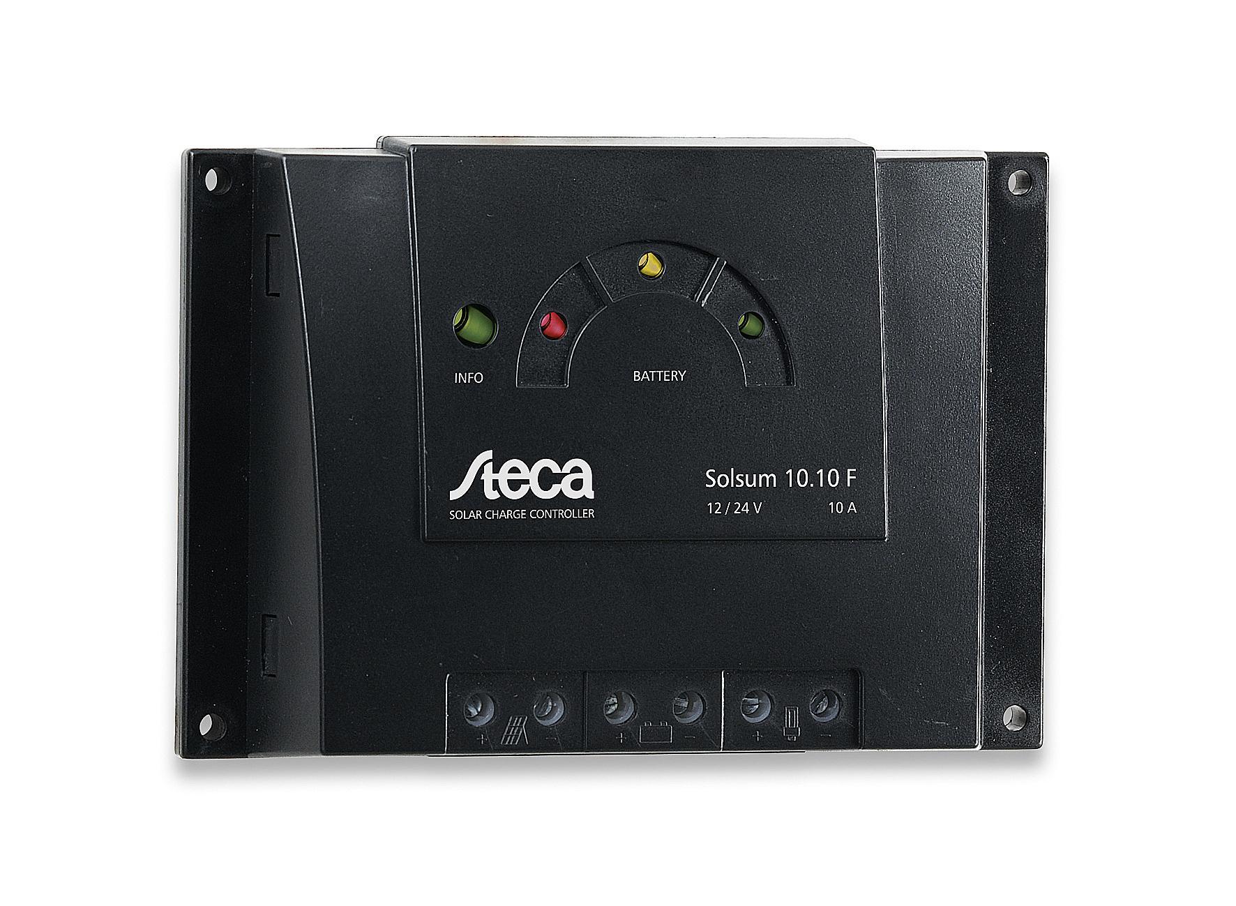 Steca Solsum F Solar Charge Controller 10a 12v 24v