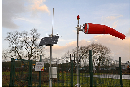 SolarBox as part of FEC Heliport's HEMS-Station