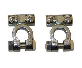 Pair of Battery Terminal Clamps (standard)
