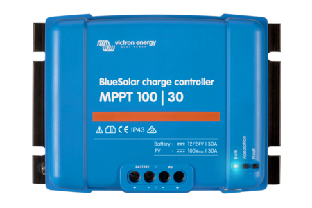 Victron BlueSolar 30A MPPT Charge Controller 100/30 (12/24V-30A)