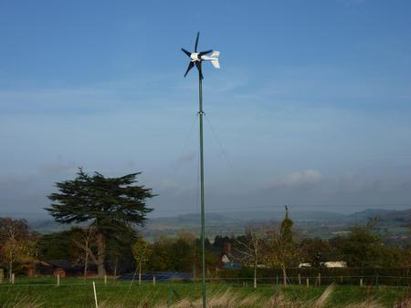 Guyed Wind Turbine Tower Kit (up to 7.5m)
